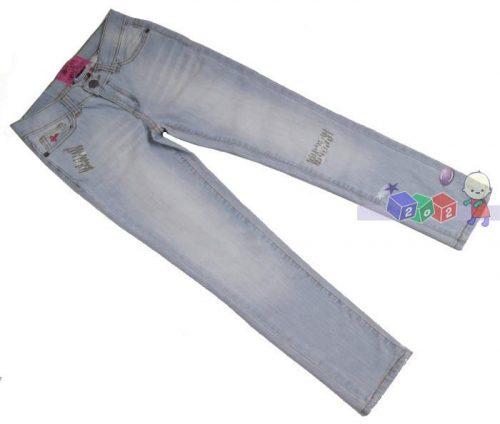 Proste spodnie jeansowe dla dziewczynki rozmiar_146-152