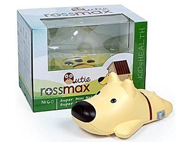 Rossmax Inhalator tłokowy NI 60Q ze smoczkiem do inhalacji - piesek