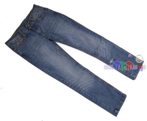 Dziewczęce spodnie jeansowe New York rozm. 146-152