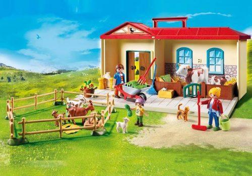Playmobil przenośne gospodarstwo rolne 4897