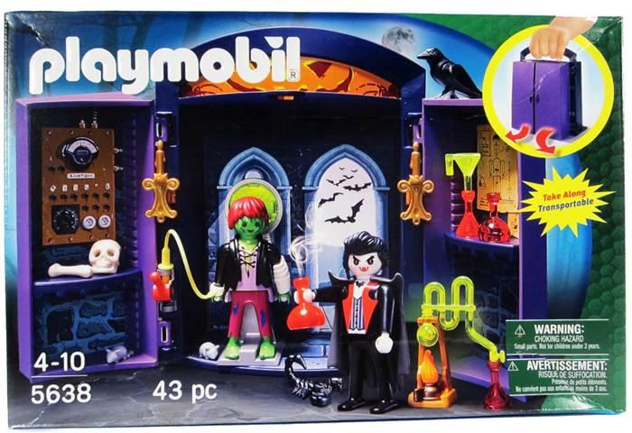 """Playmobil play box """"zamek potworów"""" 5638"""