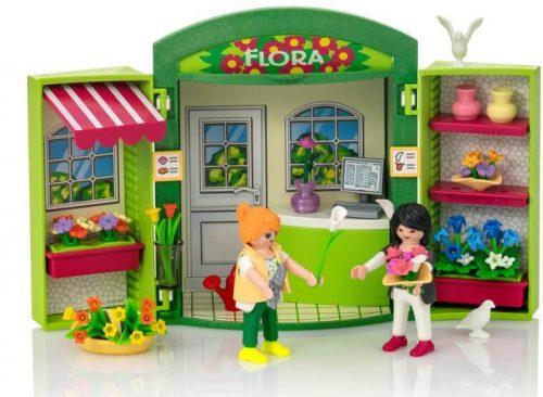 """Playmobil play box """"kwiaciarnia"""" 5639"""