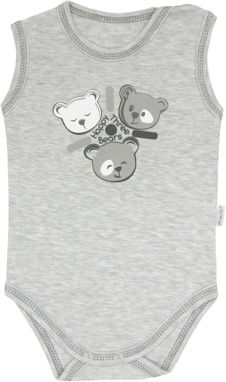 Body ramiączko Happy Bears Mamatti