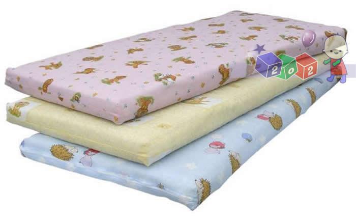 Materace do łóżeczek na wymiar kokos-pianka-kokos do rozmiaru 120x60 cm
