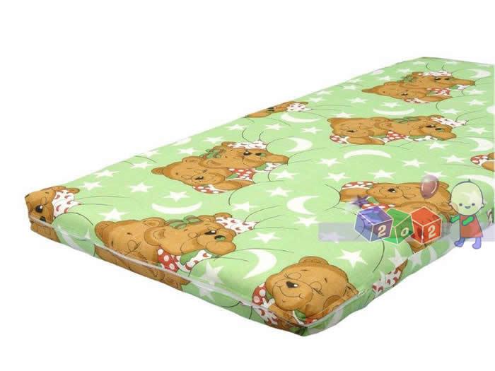 Kokosowy materac na wymiar do łóżeczka Danpol 120x60cm