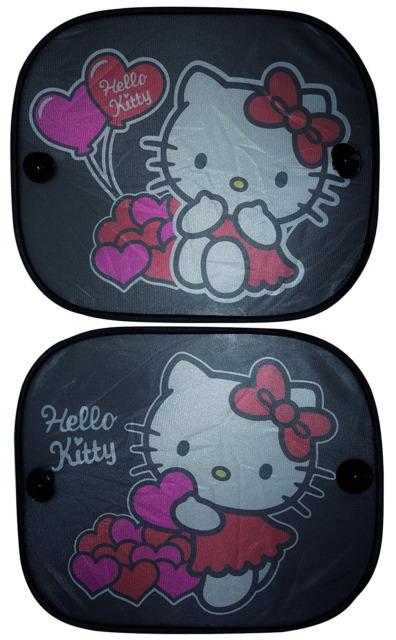 Samochodowa osłona przeciwsłoneczna 2 sztuki, Hello Kitty