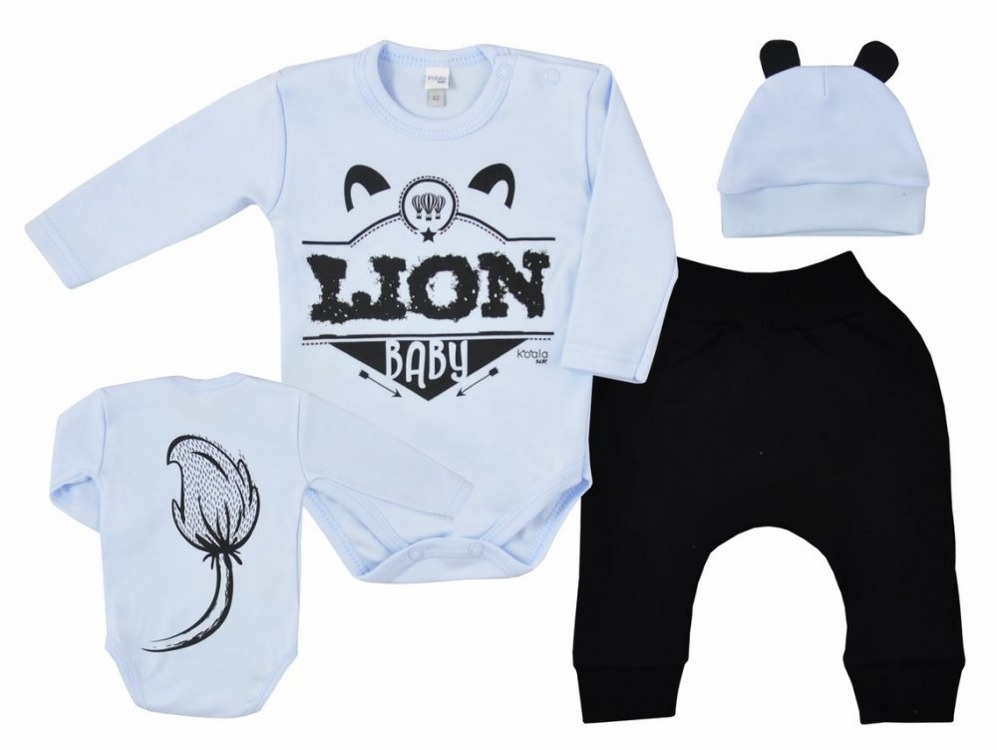 Body + spodenki, czapeczka gratis 62 Koala Baby