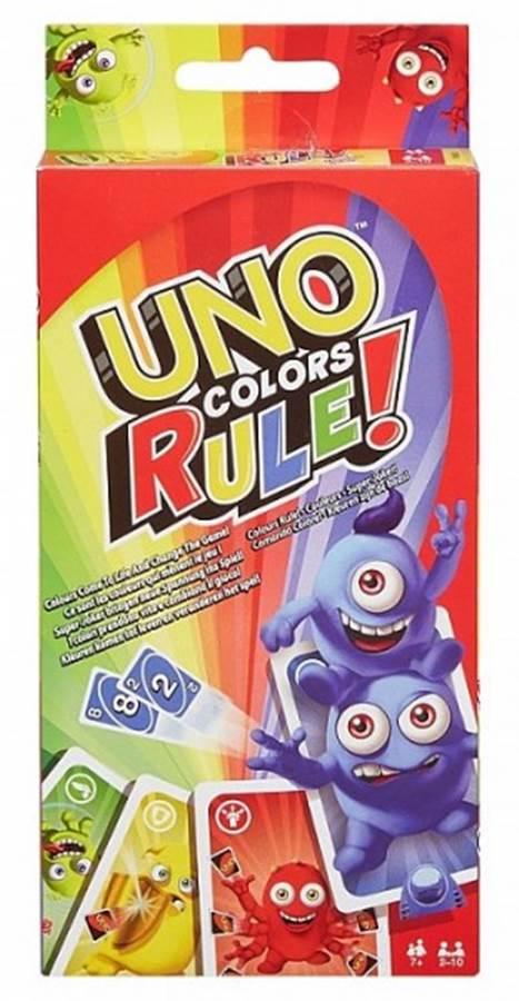 Kolory rządzą Uno Mattel
