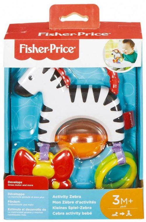 Aktywizująca zebra z przyssawką Fisher Price