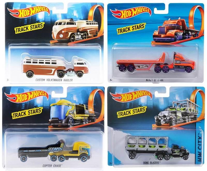 Ciężarówka Track Stars, Hot Wheels