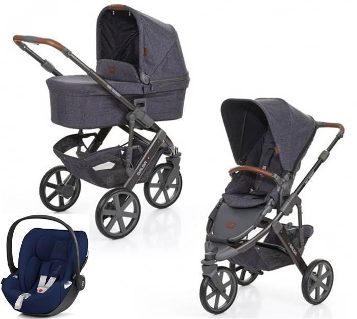 Wózek głęboko-spacerowy Salsa 3 Abc Design z fotelikiem 0-13 kg do wyboru