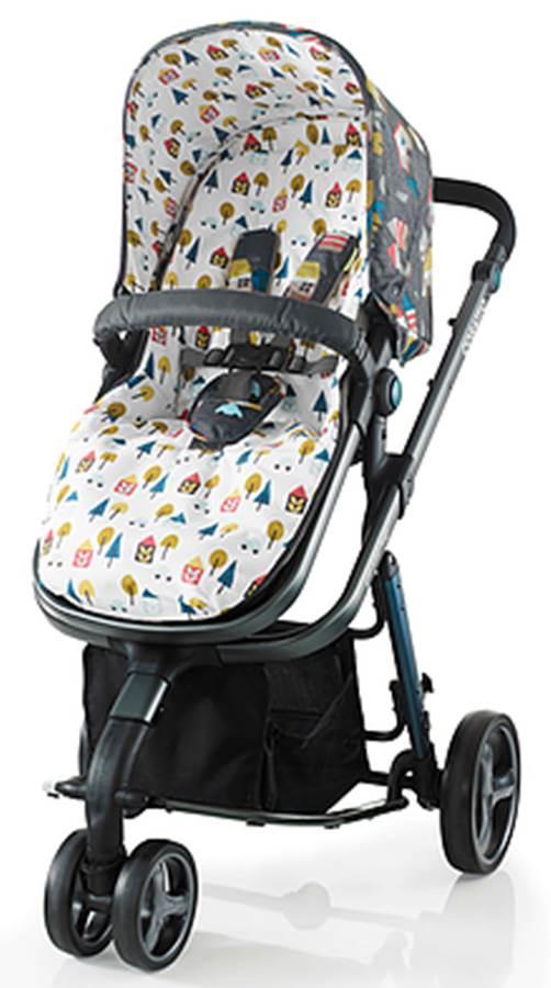 Wózek 2w1 Giggle 2 z siedziskiem, gondolą i opcją fotelika samochodowego 0-13 kg, Cosatto