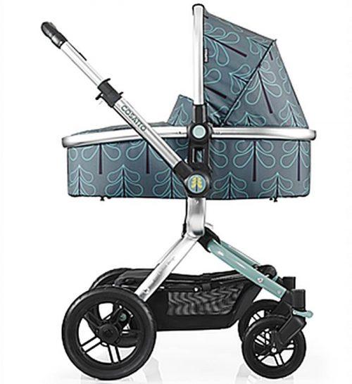 Wózek Ooba Cosatto 2w1 z siedziskiem, gondolą i możliwością wpięcia fotelika samochodowego 0-13 kg