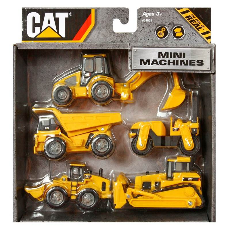 Mini Machines CAT 5 pack