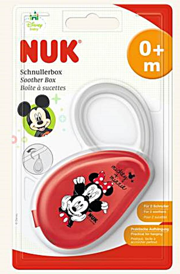 Pudełko na smoczek Myszka Miki Nuk