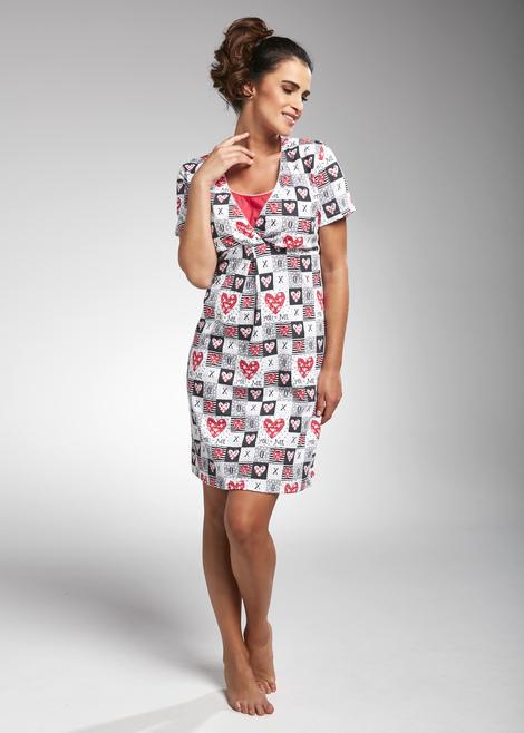 Koszula nocna dla kobiet karmiących i ciężarnych All You Need 2, Cornette