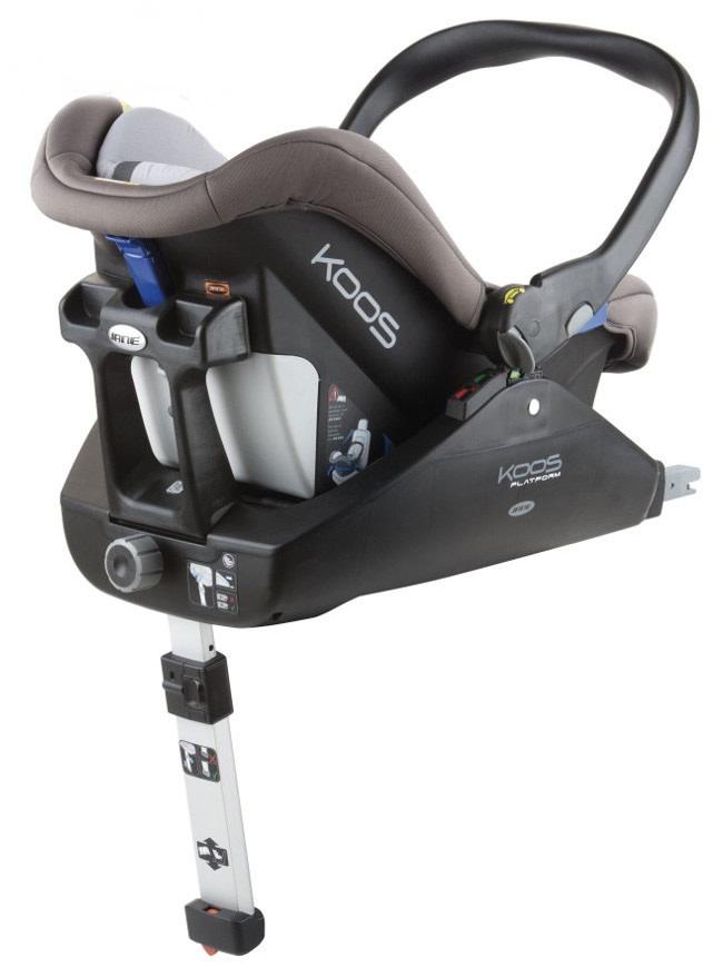 Fotelik samochodowy Koos 0-13 kg firmyJane z możliwością montażu na bazie isofix