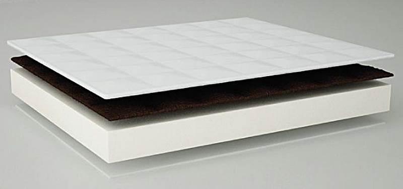 Zdrowotno-rehabilitacyjny materac piankowo-gryczany Danpol 180 x 90 cm 12 cm grubości