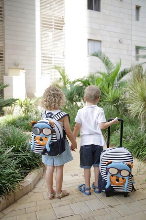 Plecak-walizka dla dziecka Wiewiórka Tots