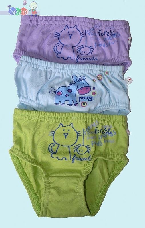 Chłopięce majtki z nadrukiem 100% bawełny_S