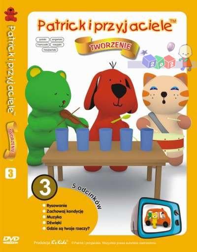 Patryk i przyjaciele - zestaw 5 edukacyjnych bajek na dvd cz.3 - Tworzenie