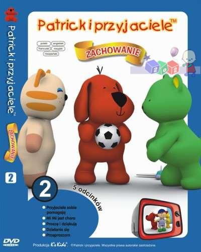 Patryk i przyjaciele - zestaw 5 edukacyjnych bajek na dvd cz.2 - Zachowanie