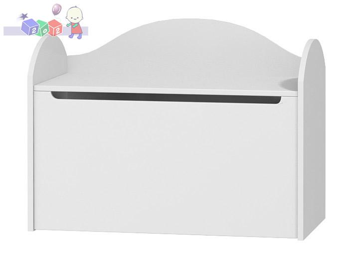 Skrzynia na zabawki/na pościel – kuferek 80x65x42