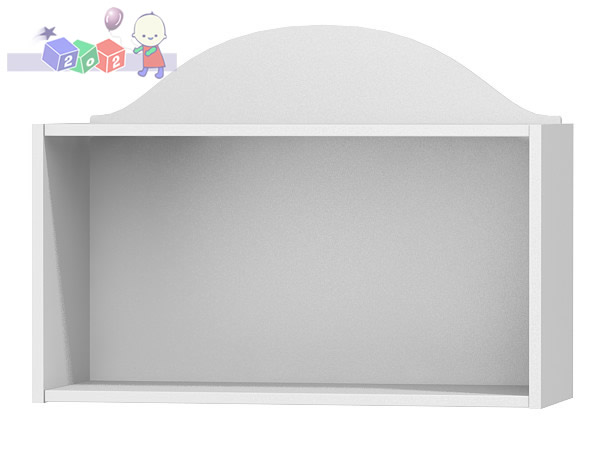 Półka wisząca – ścienna z serii Clasic 56x80x30, Baby Best