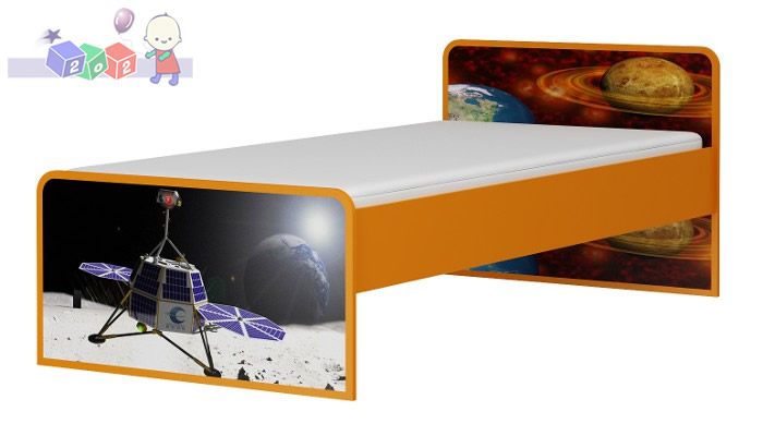 Łóżko młodzieżowo – dziecięce  Kosmos 204x96