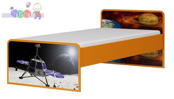 Powiększane łóżko 200x120 Baby Best kolekcja Kosmos