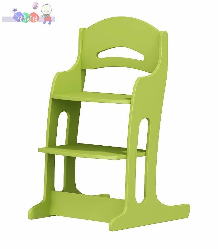 Krzesełko do karmienia od 2-12 lat z regulacją oparcia i podnóżka