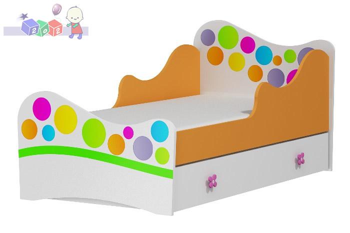 Łóżko dla dziecka Rainbow Baby Best 164x90