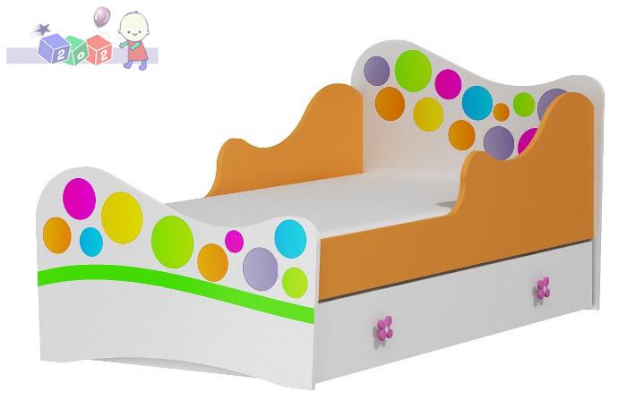 Powiększane łóżko Dla Dzieci 184x101 Rainbow