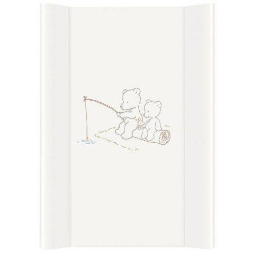 Nadstawka krótka bez zagłówka przewijak 70x50 cm Ceba Baby_Papa Bear biały
