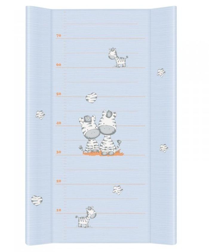 Nadstawka na łożeczko przewijak 70x50 cm Zebra Ceba Baby_Zebra niebieski