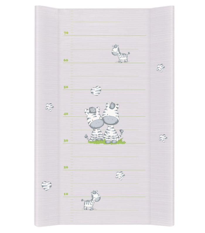 Nadstawka na łożeczko przewijak 70x50 cm Zebra Ceba Baby_Zebra szary
