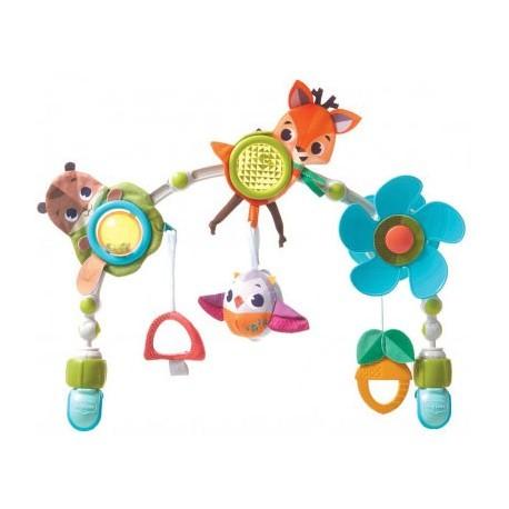 Łuk muzyczny z zabawkami do wózka, fotelika Leśna kraina - Tiny Love