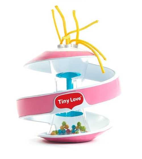 Spirala sensoryczna Inspiral klepsydra Tiny Love_Różowy