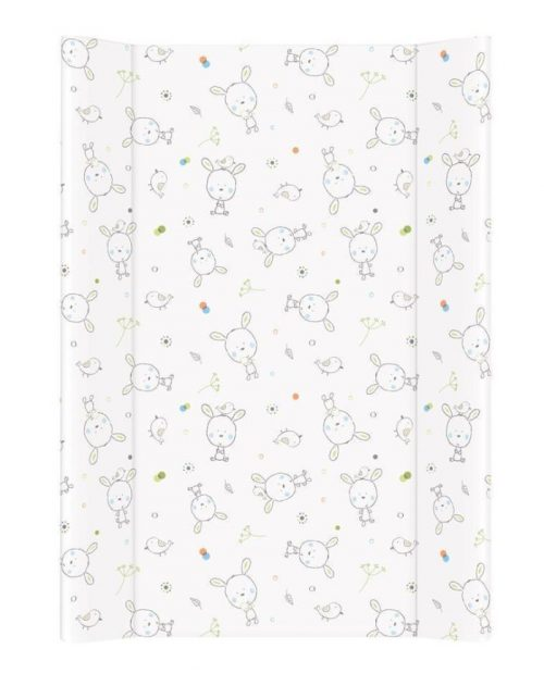 Nadstawka krótka bez zagłówka przewijak 70x50 cm Ceba Baby Dream biały rozproszony
