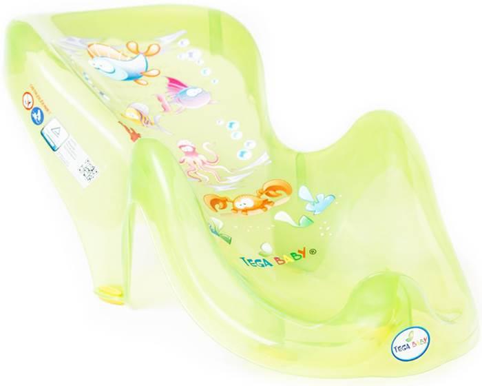 Anatomiczny fotelik do kąpieli dzieci i niemowląt Aqua Tega Baby Zielony