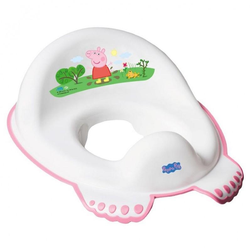 Nakładka antypoślizgowa na sedes wc Peppa Pig Tega Baby Różowa