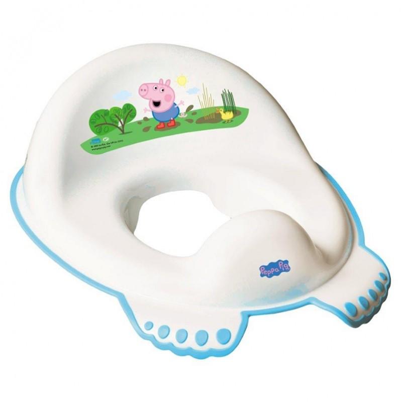 Nakładka antypoślizgowa na sedes wc Peppa Pig Tega Baby Niebieska