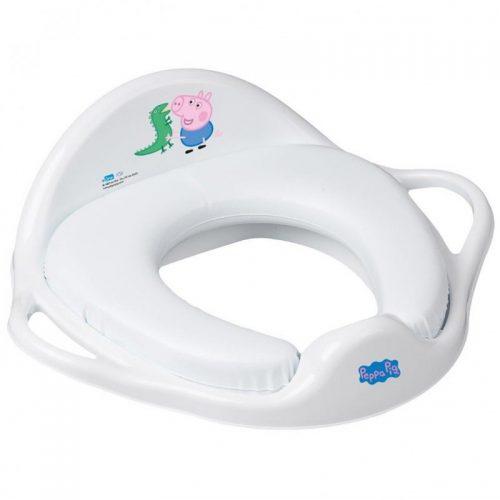 Nakładka miękka na sedes wc Peppa Pig Tega Baby Niebieska