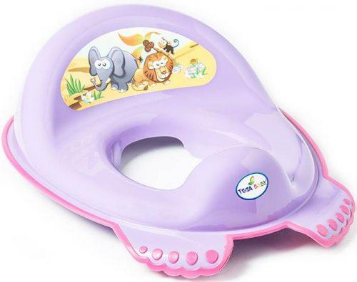 Antypoślizgowa nakładka na sedes wc dla dzieci Safari Tega Baby Fioletowy