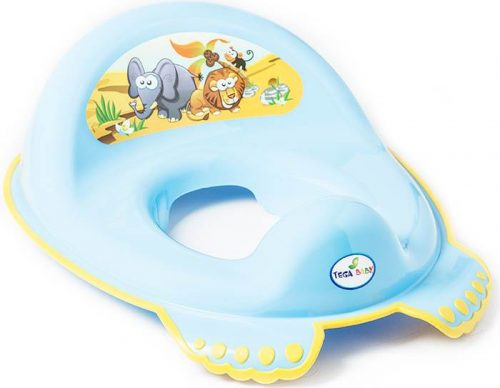 Antypoślizgowa nakładka na sedes wc dla dzieci Safari Tega Baby Niebieski