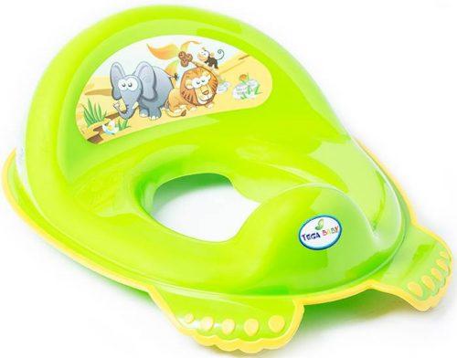 Antypoślizgowa nakładka na sedes wc dla dzieci Safari Tega Baby Zielony