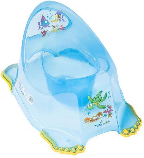 Nocnik antypoślizgowy Tega Baby Aqua Niebieski