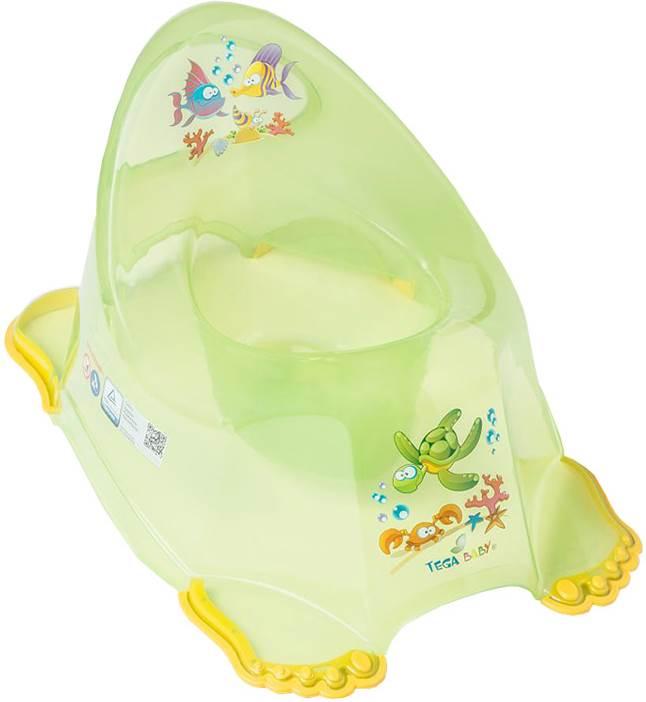 Nocnik antypoślizgowy Tega Baby Aqua Zielony