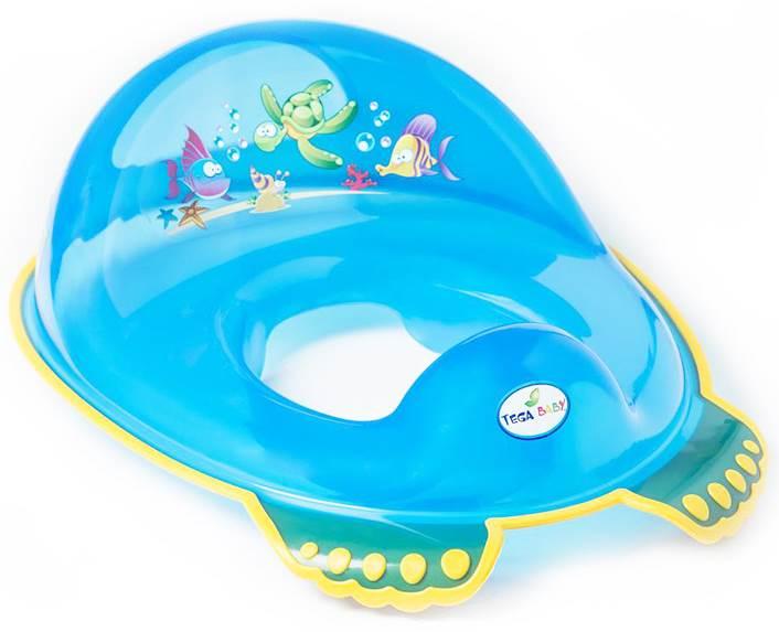 Nakładka na WC antypoślizgowa Tega Baby Niebieski