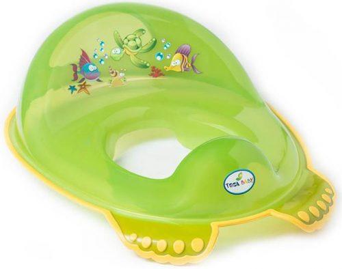 Nakładka na WC antypoślizgowa Tega Baby Zielony